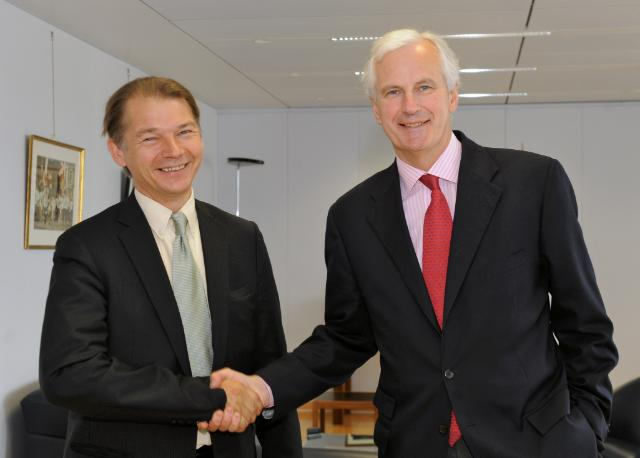 Visit of Philippe Lamberts, Member of the EP, to the EC