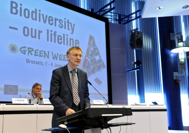 Janez Potocnik, Member of the EC, at the Green Week 2010