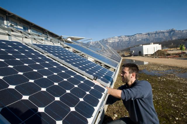 INES is the French National Institute for Solar Energy