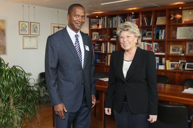 Visite de David C. Drummond, vice-président senior, chargé du Développement de l'entreprise et directeur des Affaires juridiques de Google, à la CE