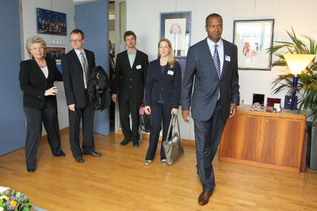 Visit of David C. Drummond, Senior Vice-President, in charge of Corporate Development and Chief Legal Officer of Google, to the EC