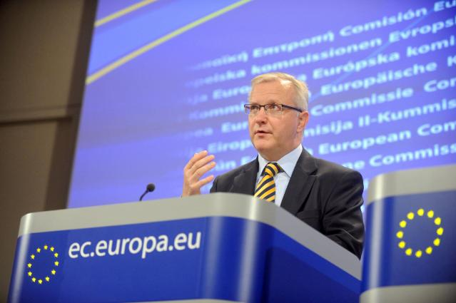 Press Conference by Olli Rehn, Member of the EC, on the interim economic forecast