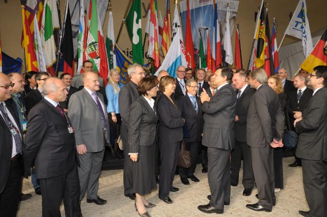 Participation of José Manuel Barroso, President of the EC, at the cohesion policy regional summit