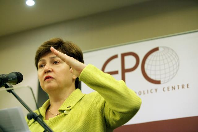 Speech by Kristalina Georgieva, Member of the EC, on reinforcing the EU's Disaster Response capacity