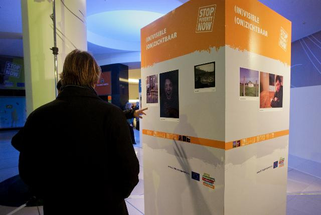 Vernissage of the Photo Exhibition Is poverty (in)visible in Europe? in the framework of the European Year for Combating Poverty and Social Exclusion