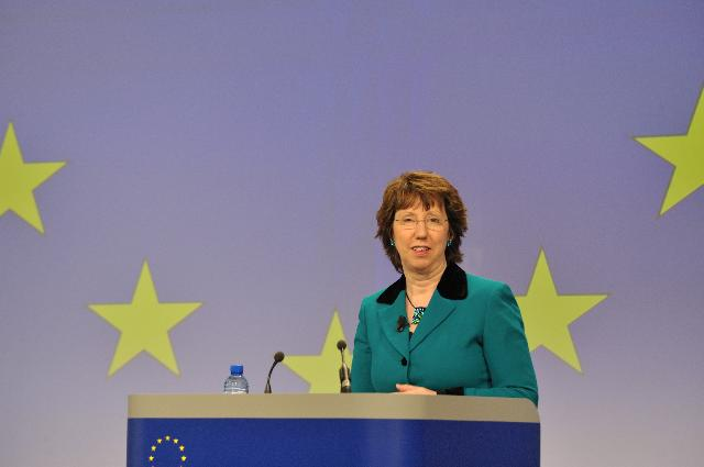 Press conference by Catherine Ashton, Vice-President of the EC, on the launch of the EEAS