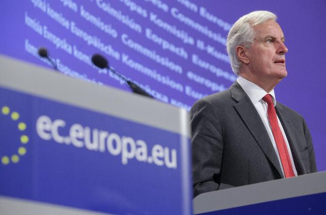 Press conference by Michel Barnier, Member of the EC, on the roadmap for SEPA migration end-dates