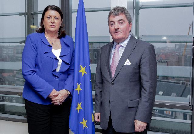 Visit of Sean O' Driscoll, CEO of Glen Dimplex, to the EC