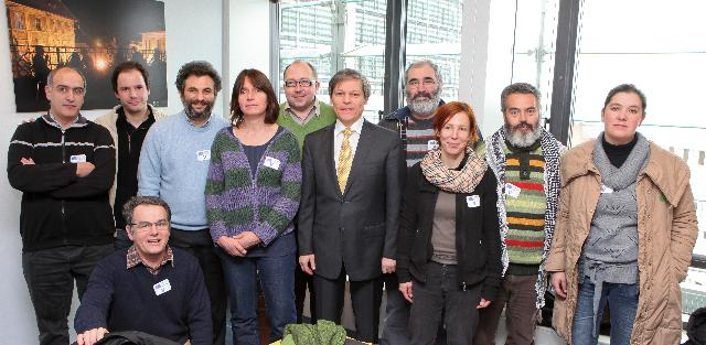 Visit of the Members of the European Coordination Via Campesina to the EC