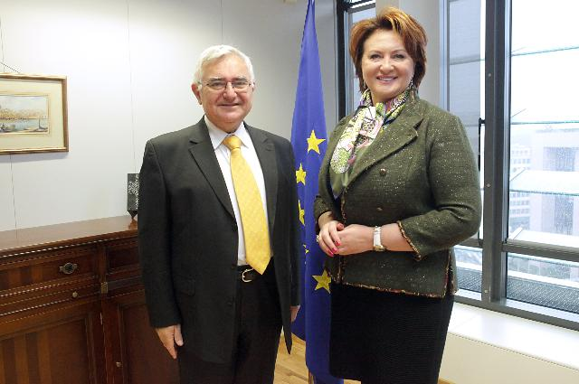 Visit of Yelena Skrynnik, Russian Minister for Agriculture, to the EC