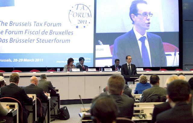 Participation of Algirdas Šemeta, Member of the EC, at the Brussels Tax Forum 2011