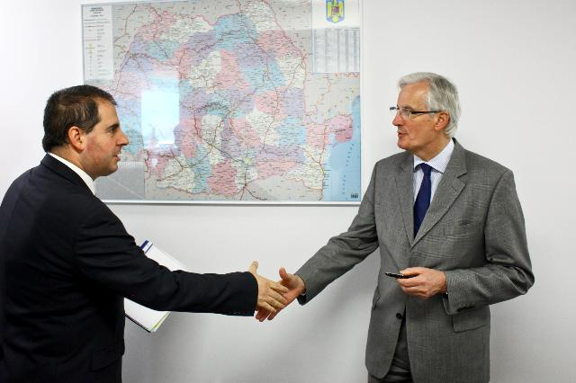 Visit of Michel Barnier, Member of the EC, to Romania