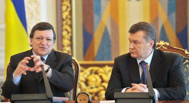Visit of José Manuel Barroso, President of the EC, to Ukraine