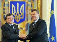 Visit of José Manuel Barroso, President of the EC, to Ukraine