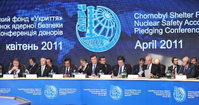 Visite de José Manuel Barroso, président de la CE, en Ukraine