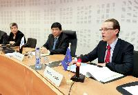 Participation of Algirdas Šemeta, Member of the EC, in the press conference of the World Customs Organisation