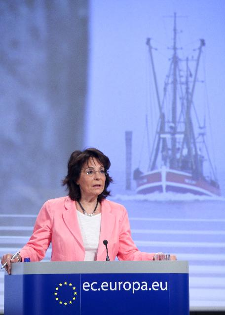 Press conference by Maria Damanaki, Member of the EC, on the reform of the Common Fisheries Policy