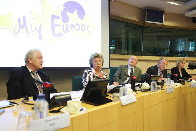 Speech by Viviane Reding, Vice-President of the EC, on the launch of My Europe project