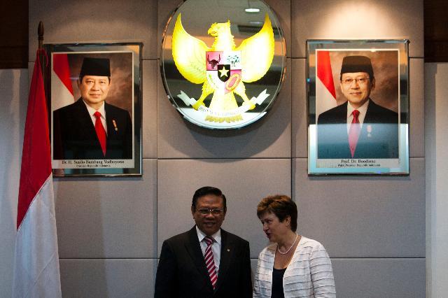 Visit of Kristalina Georgieva, Member of the EC, to Burma/Myanmar, Thailand and Indonesia