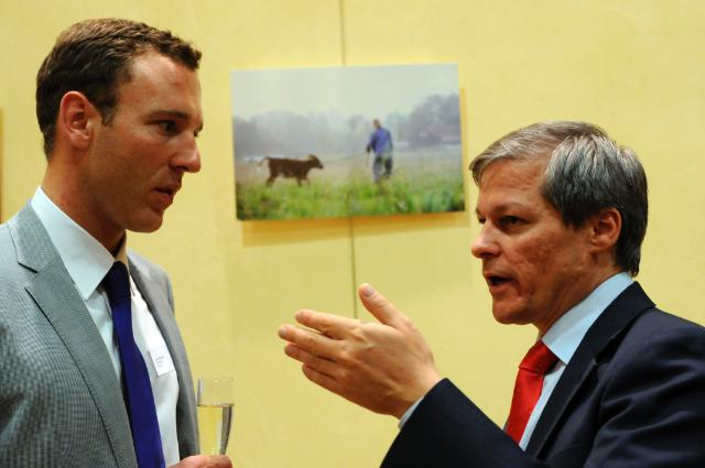 Opening of the photo exhibition 'Putting a face to food, know the farmer behind the product, with the participation of Dacian Cioloş, Member of the EC