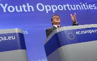 Press conference by José Manuel Barroso, President of President, and László Andor, Member of the EC, on the Youth Opportunities Initiative