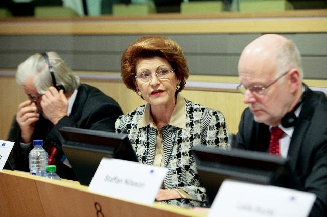 Participation d'Androulla Vassiliou, membre de la CE, à la conférence du CESE: La crise, l'éducation et le marché du travail
