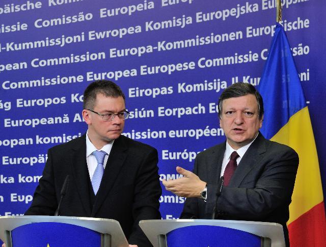 Visit of Mihai-Răzvan Ungureanu, Romanian Prime Minister, to the EC