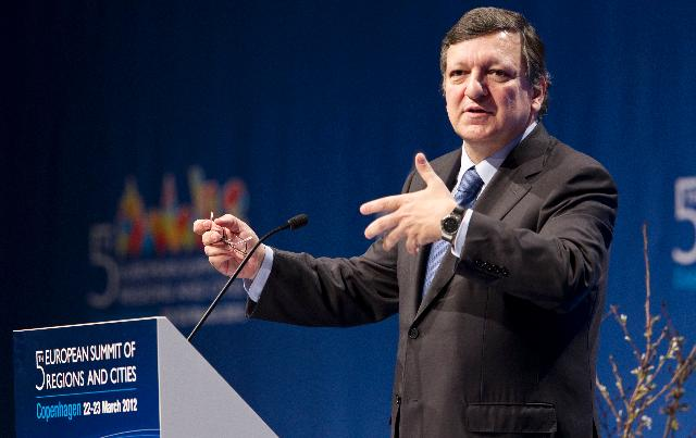 Participation of José Manuel Barroso, President of the EC, in the 5th European Summit of Regions and Cities