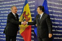 Visit of Nicolae Timofti, President of Moldova, to the EC