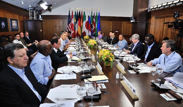 Sommet du G8 à Camp David