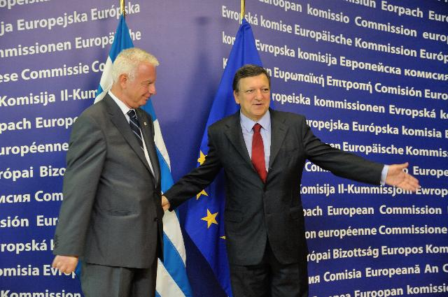 Visit of Panagiotis Pikrammenos, Greek Prime Minister ad interim, to the EC