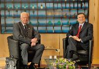 Visit of Panagiotis Pikrammenos, Greek Prime Minister ad interim, to the EC