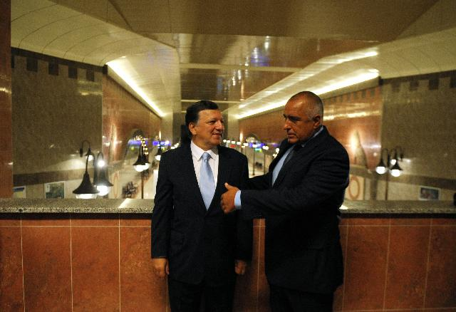 Visit of José Manuel Barroso, President of the EC, to Bulgaria