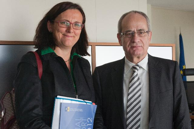 Visit of Cecilia Malmström, Member of the EC, to the European Monitoring Centre for Drugs and Drug Addiction, in Lisbon