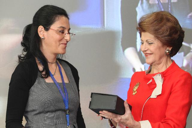 Participation of Androulla Vassiliou, Member of the EC, at the ceremony announcing the winners of the first Marie Curie Prize and the conference Marie Skłodowska-Curie Actions in Horizon 2020. Regional and international impact