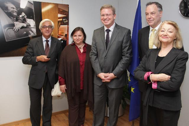 Visit of a delegation from MEDEL to the EC