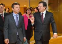 Visite de Bidzina Ivanishvili, Premier ministre géorgien, à la CE