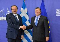 Visit of Antonis Samaras, Greek Prime Minister, to the EC