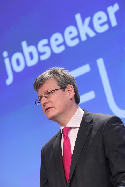 Press conference by László Andor, Member of the EC, on EURES jobseeker mobility network