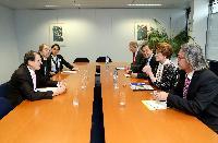 Visite à la CE d'une délégation du Centre de recherche économique et sociale sur l'innovation et la technologie des Nations unies et de l'Université de Maastricht