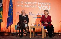 Opening of the European Year of Citizens 2013 with Viviane Reding