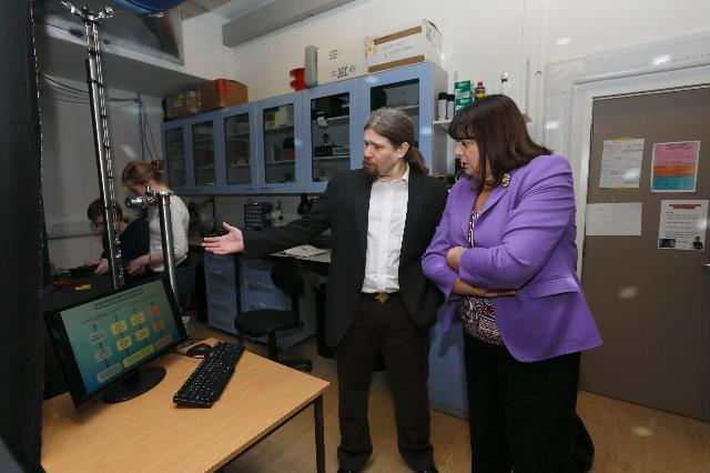 Visit of Máire Geoghegan-Quinn, Member of the EC, to the United Kingdom