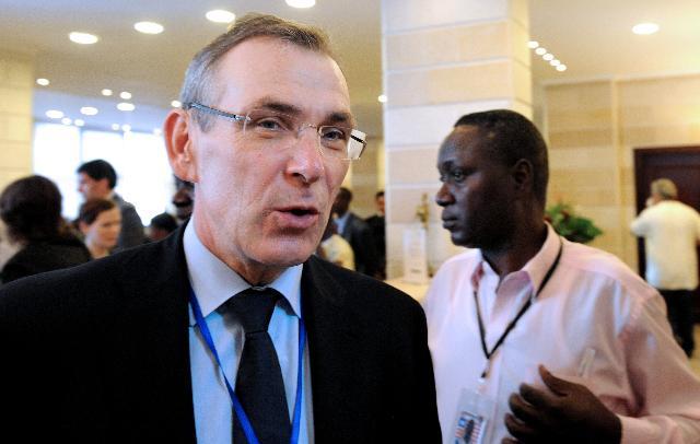 Visit of Andris Piebalgs, Member of the EC, to Liberia