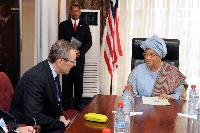 Visit of Andris Piebalgs, Member of the EC, to Liberia