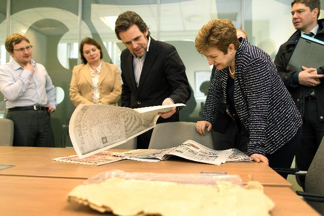 Visit of Kristalina Georgieva, Member of the EC, to Belfast and Dublin