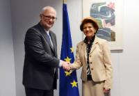 Visite de Dainius Pavalkis, ministre lituanien de l'Éducation et des Sciences, à la CE