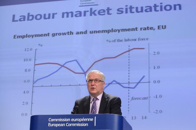 Press conference by Olli Rehn, Vice-President of the EC, on the winter economic forecasts for 2013-2014