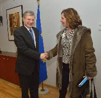 Visit of Edith Schippers, Dutch Minister for Health, Welfare and Sport, to the EC