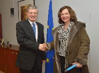 Visit of Edith Schippers, Dutch Minister of Health, Welfare and Sport, to the EC