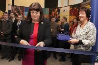 Inauguration officielle du bâtiment de la DG